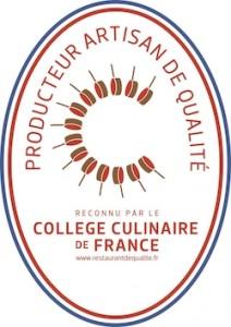 Franco Gulli, reconnu producteur – artisan de qualité par le collège culinaire de France !